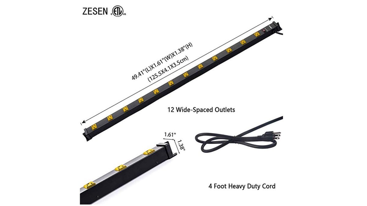 Geek Daily Deals 102618 4 foot power strip