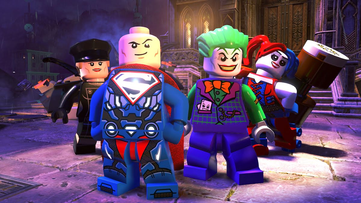 All these DC villains and only good things to do.