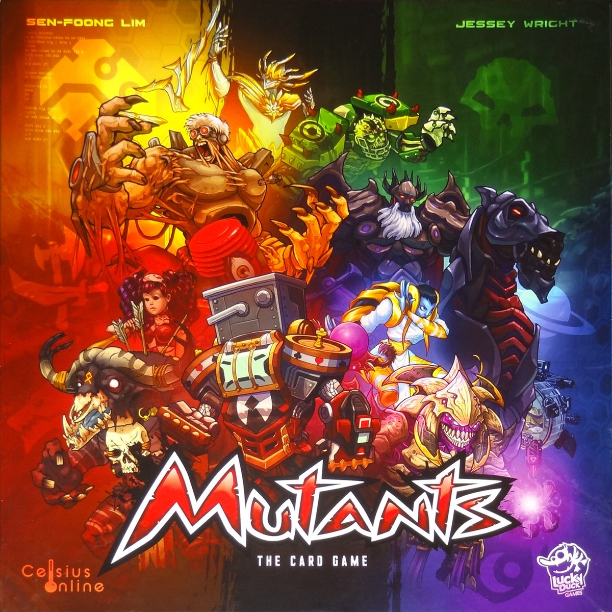 Mutants Card Game cover