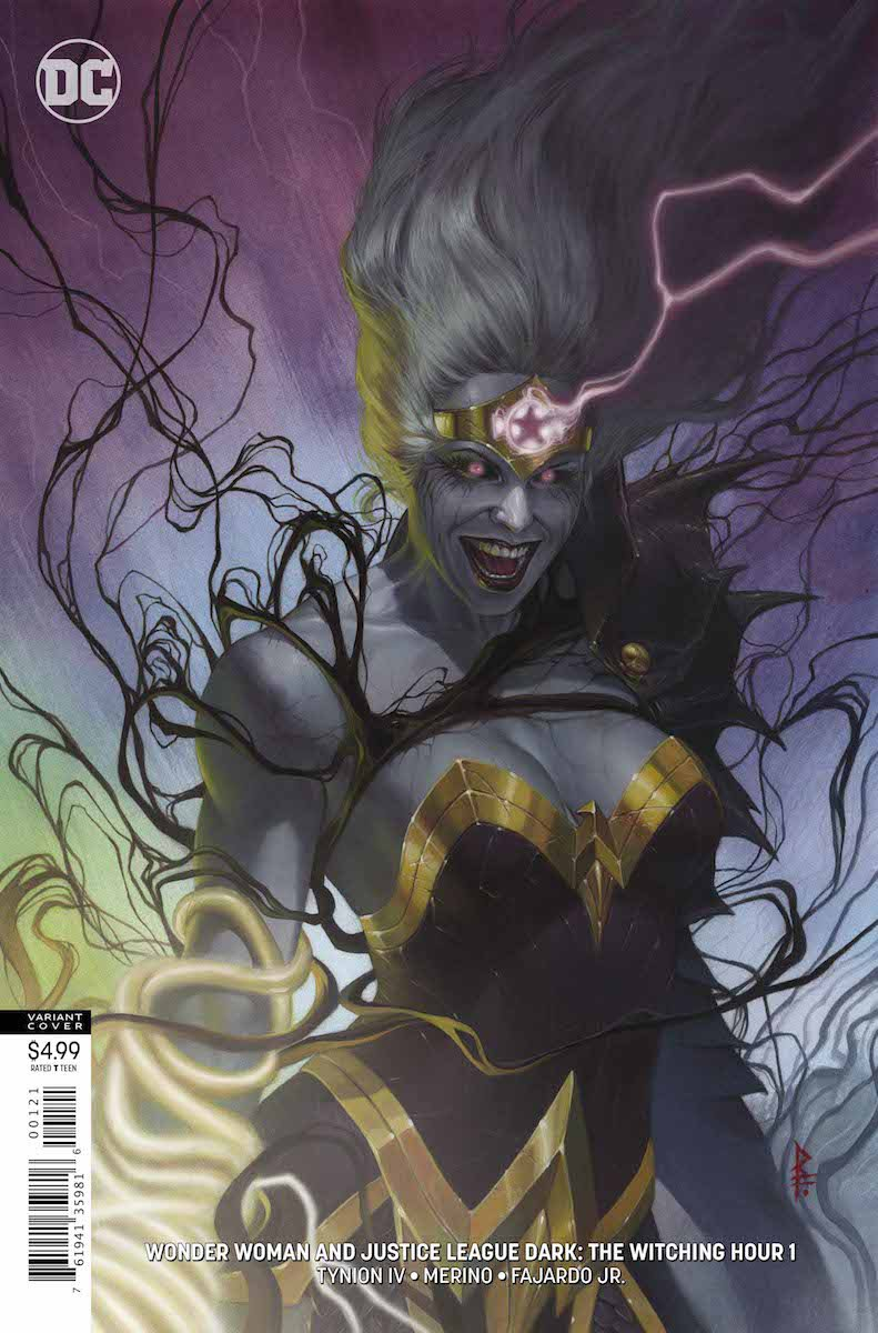 Wonder Woman/Justice League Dark: The Witching Hour #1
