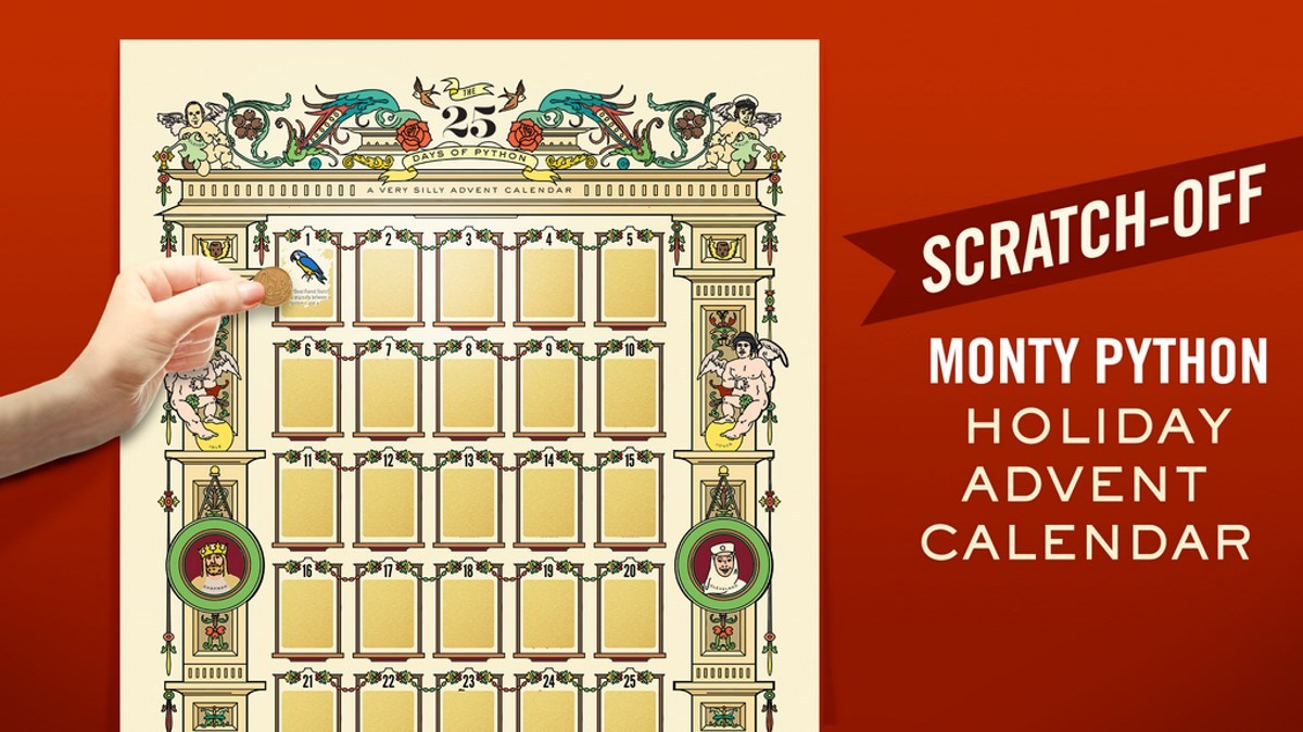 Monty Python Advent Calendar