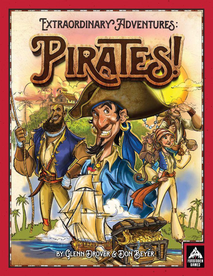 Extraordinary Adventures: Pirates cover