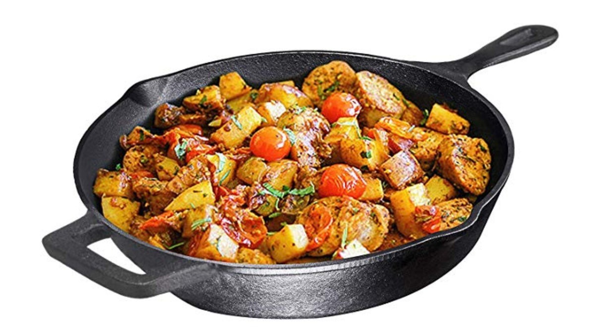 Geek Daily Deals 110818 cast-iron skillet
