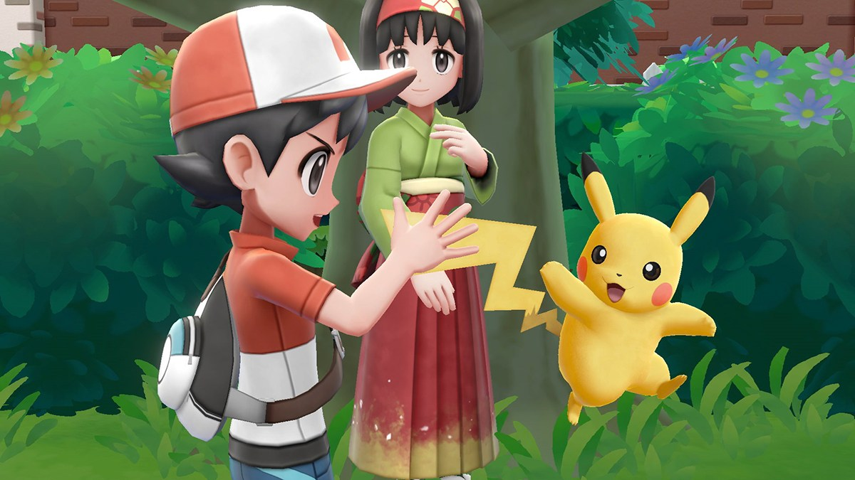 lets go pikachu
