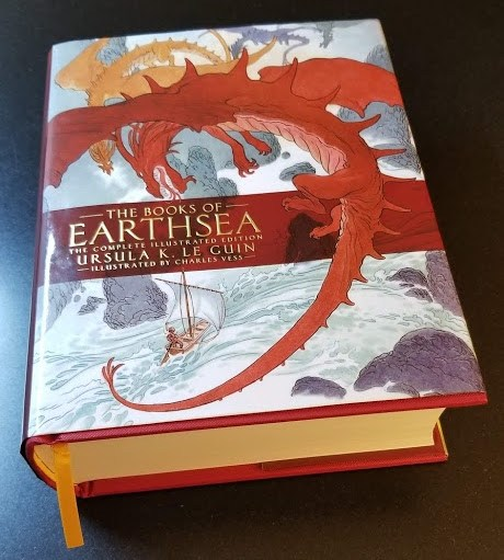 Books of Earthsea Illustrated Edition review cover book