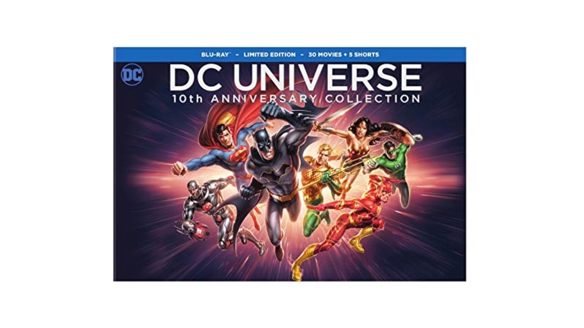 Geek Daily Deals 121718 DC animated movies