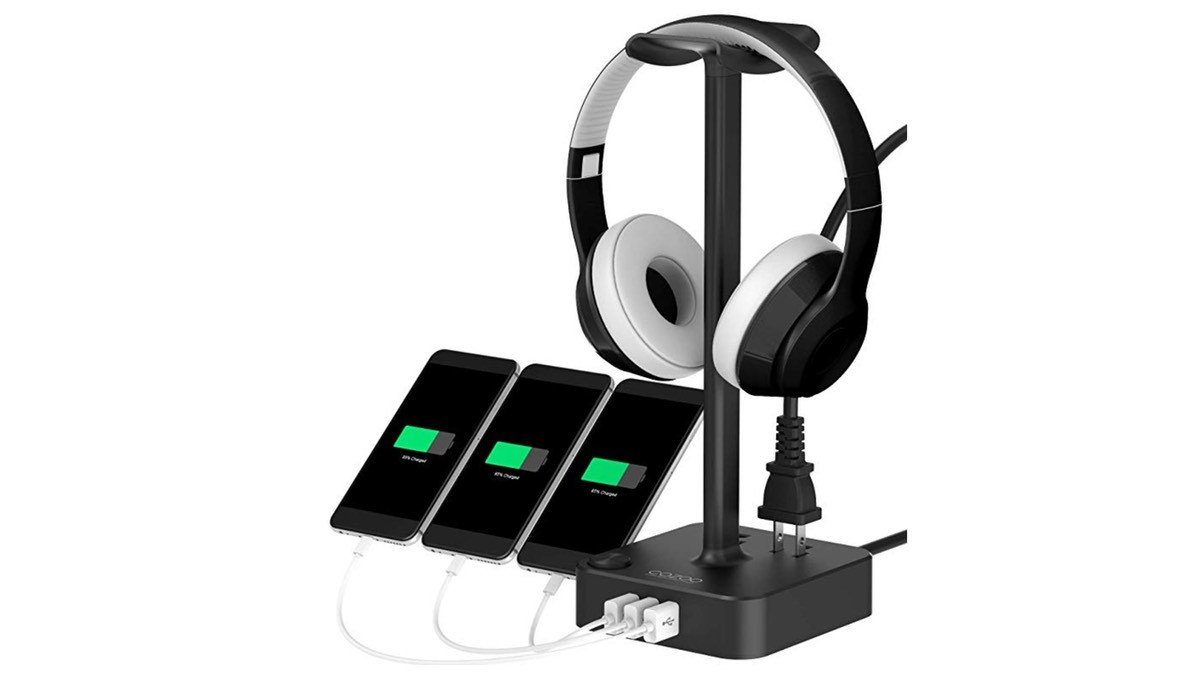 Geek Daily Deals 122718 headphone charging station