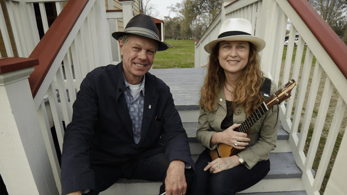 Johnette Downing and Scott Billington