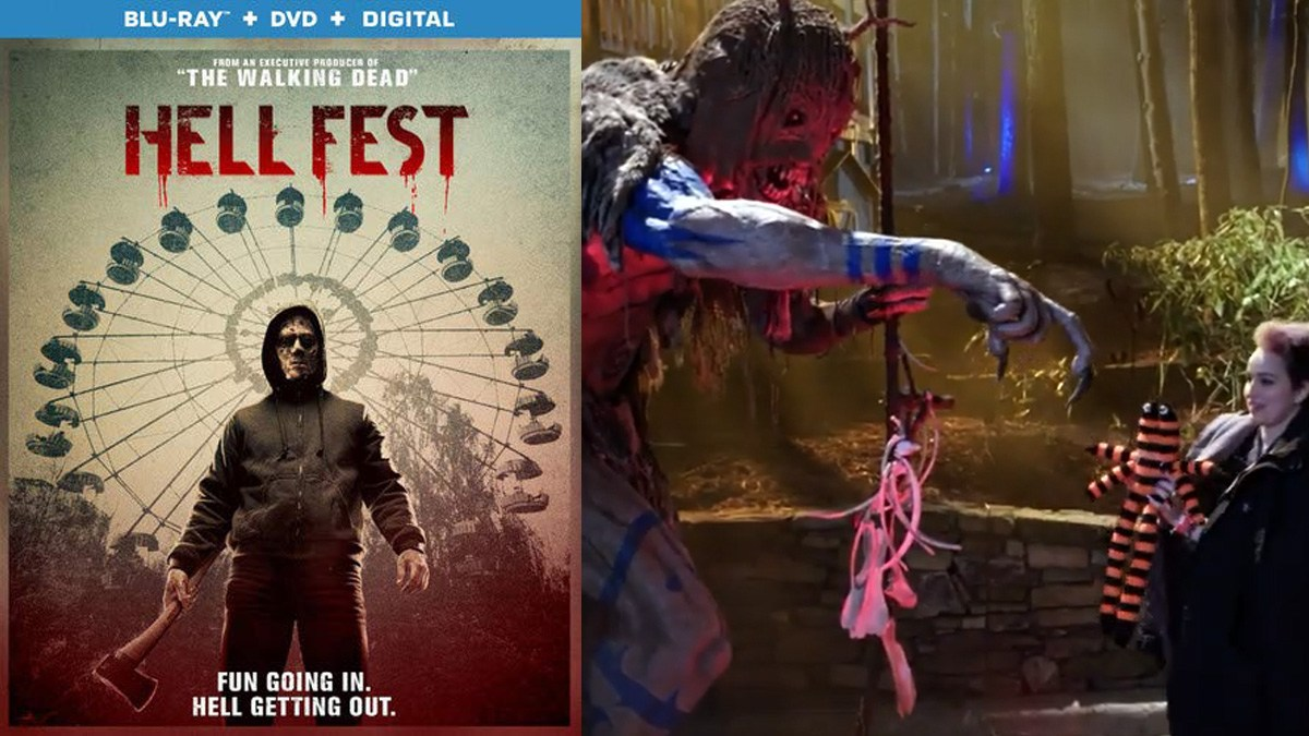 Exclusive clip and Blu-ray box art for 'Hell Fest'