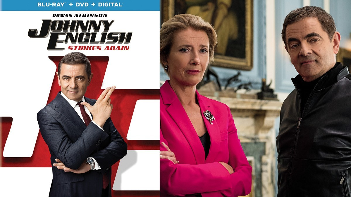 Johnny English Strikes Again Blu-ray