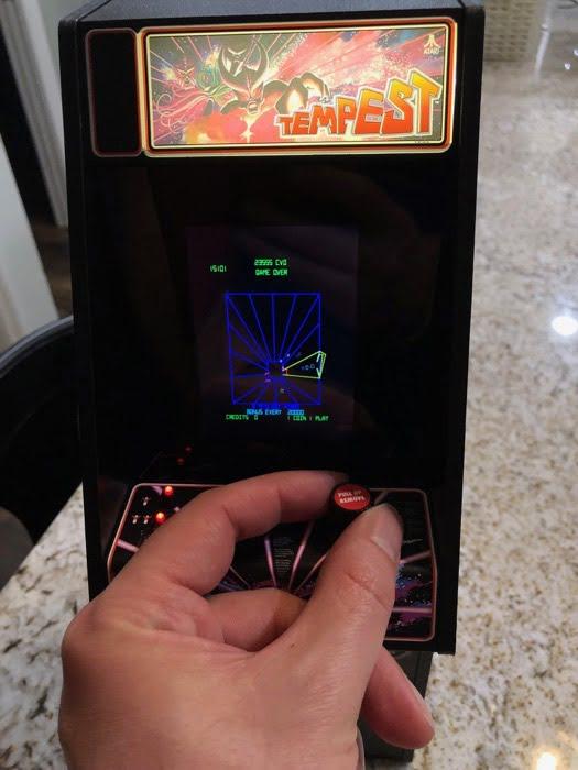 Tempest X Replicade Arcade Game