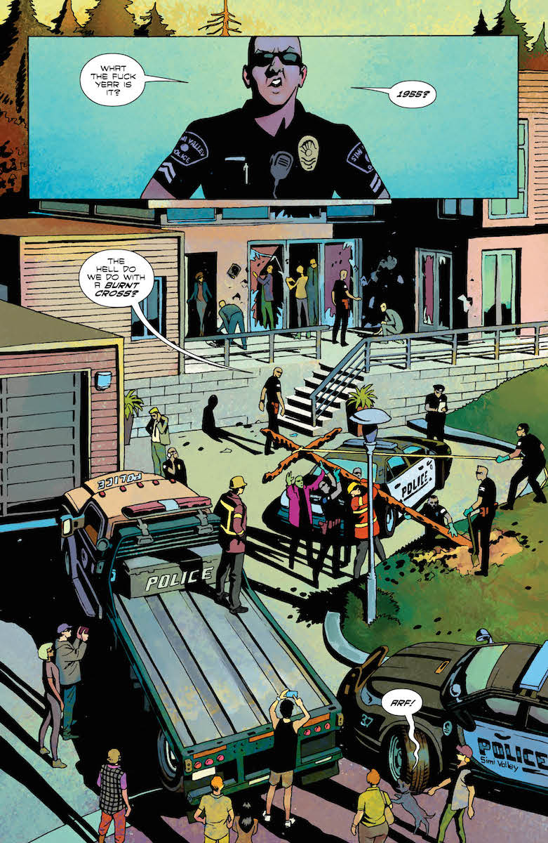 American Carnage #4 interior page