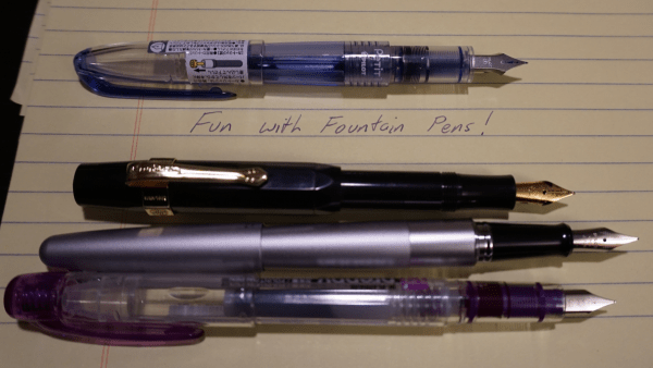 Fun with Fountain Pens Cover Image