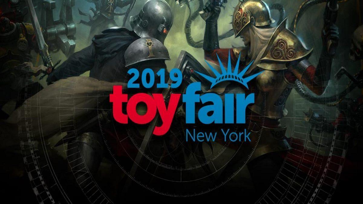 Games Workshop New York Toy Fair 2019