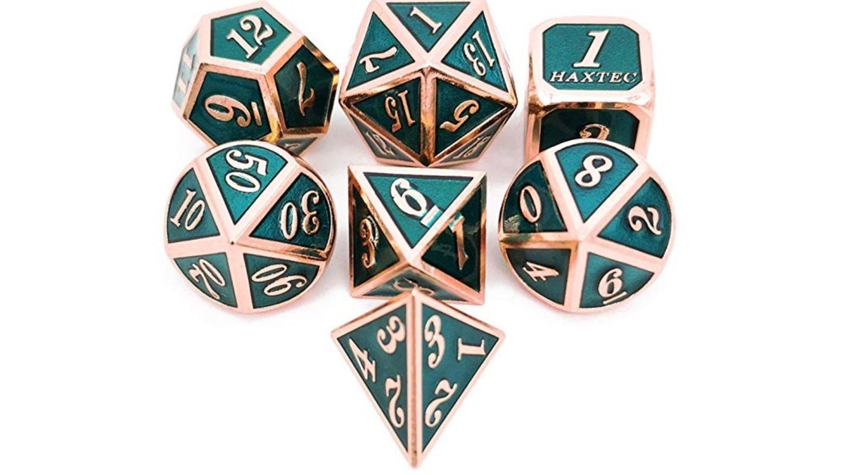 Geek Daily Deals 020919 metal dice