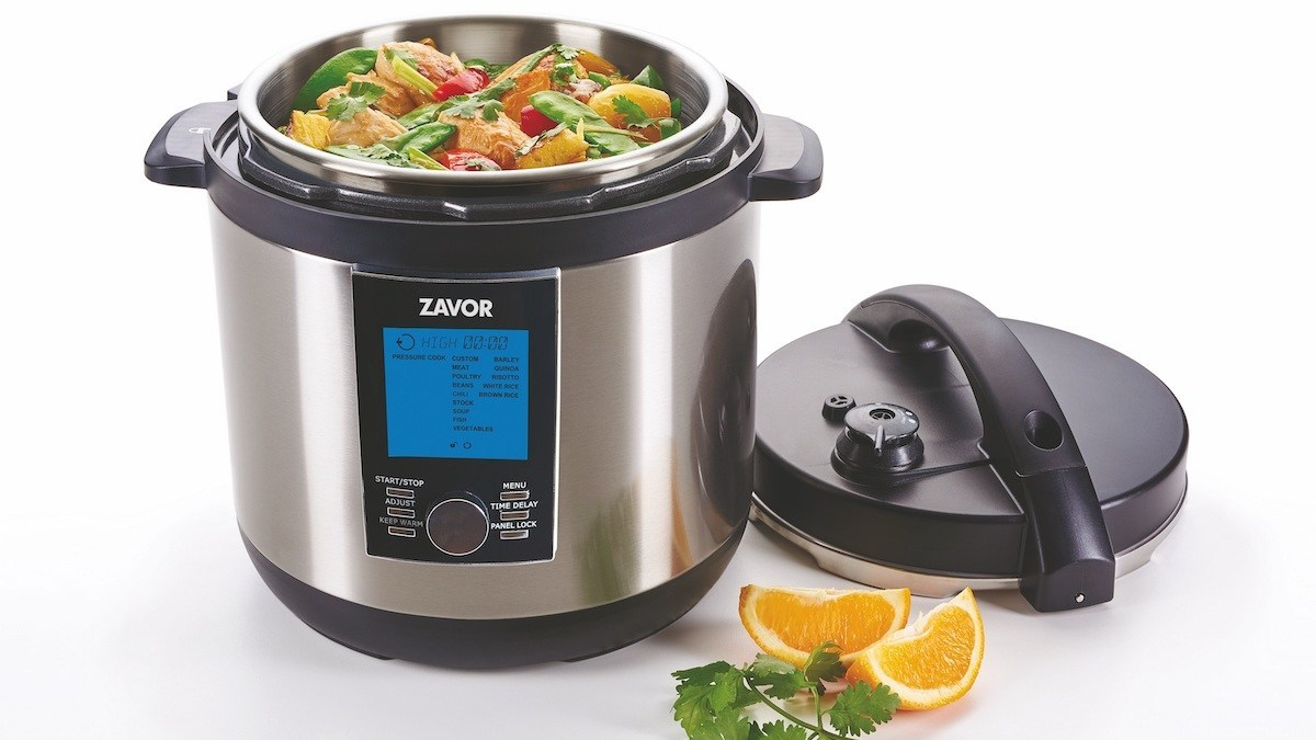 The LUX LCD multi-cooker does so much, we'd need a bigger caption box to say it all.