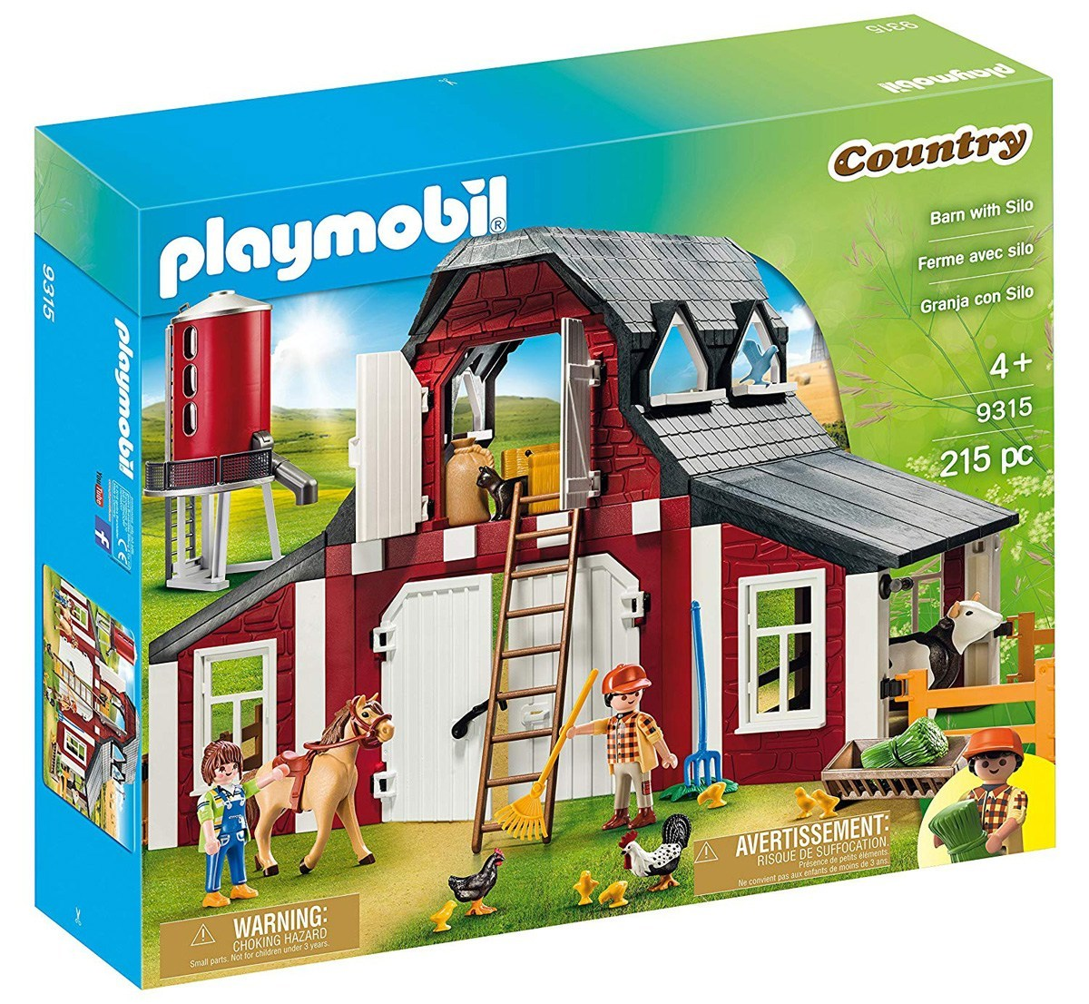Playmobil Country Barn and Silo