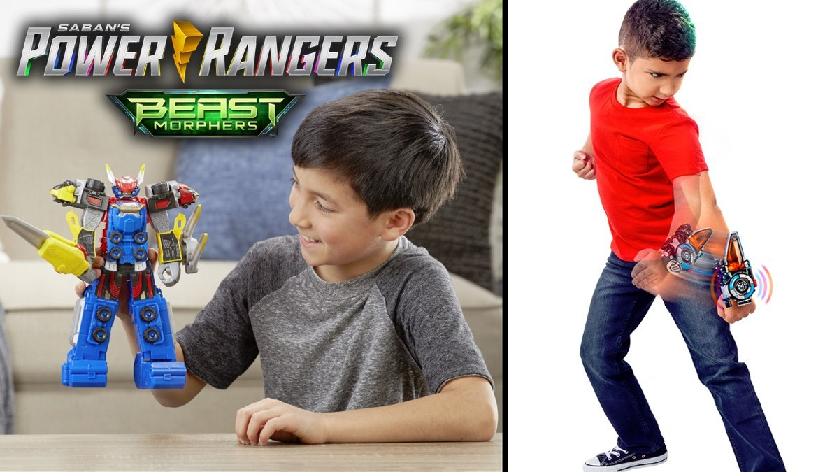 Power Rangers Beast Morphers Toys