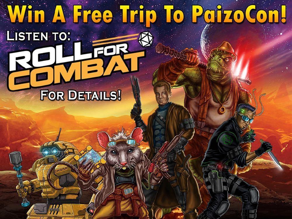 Free trip to PaizoCon 2019