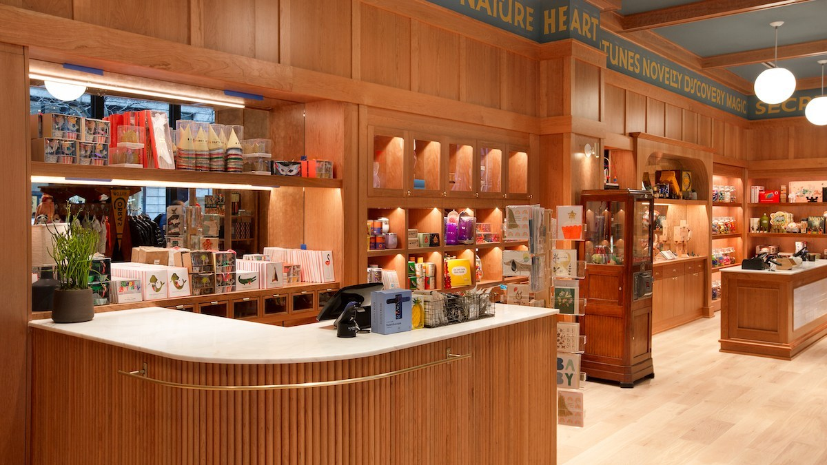 """The upfront """"Canteen"""" area at CAMP is full of fun and silly products, and ONE HUGE SECRET."""