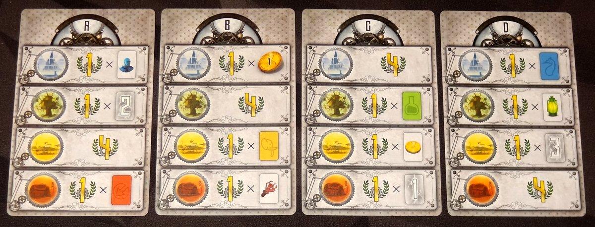 Catalyst Goal cards