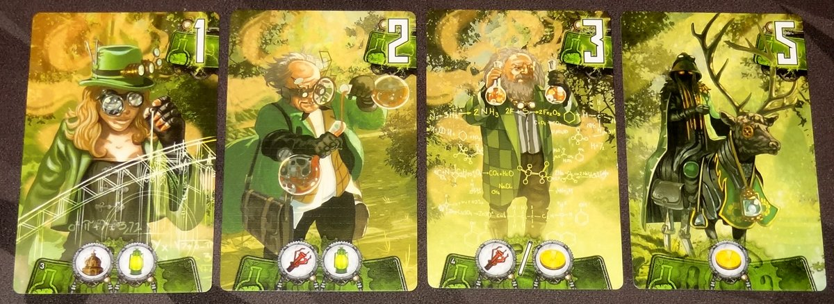 Catalyst green cards