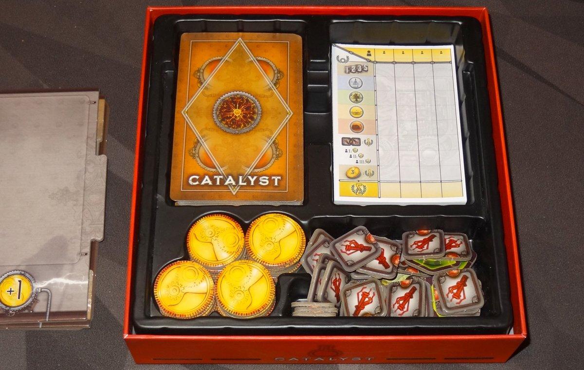 Catalyst insert