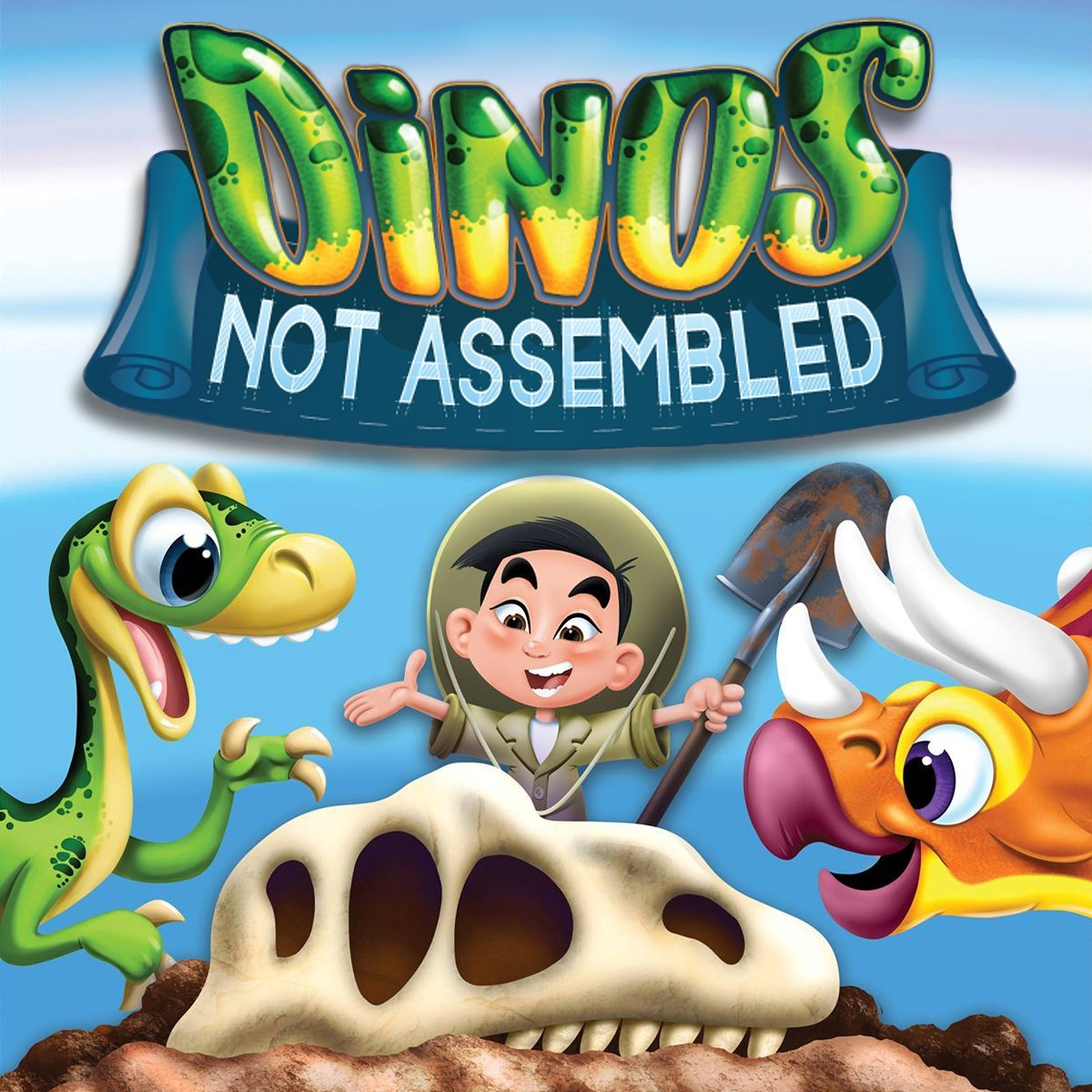 Dinos Not Assembled cover