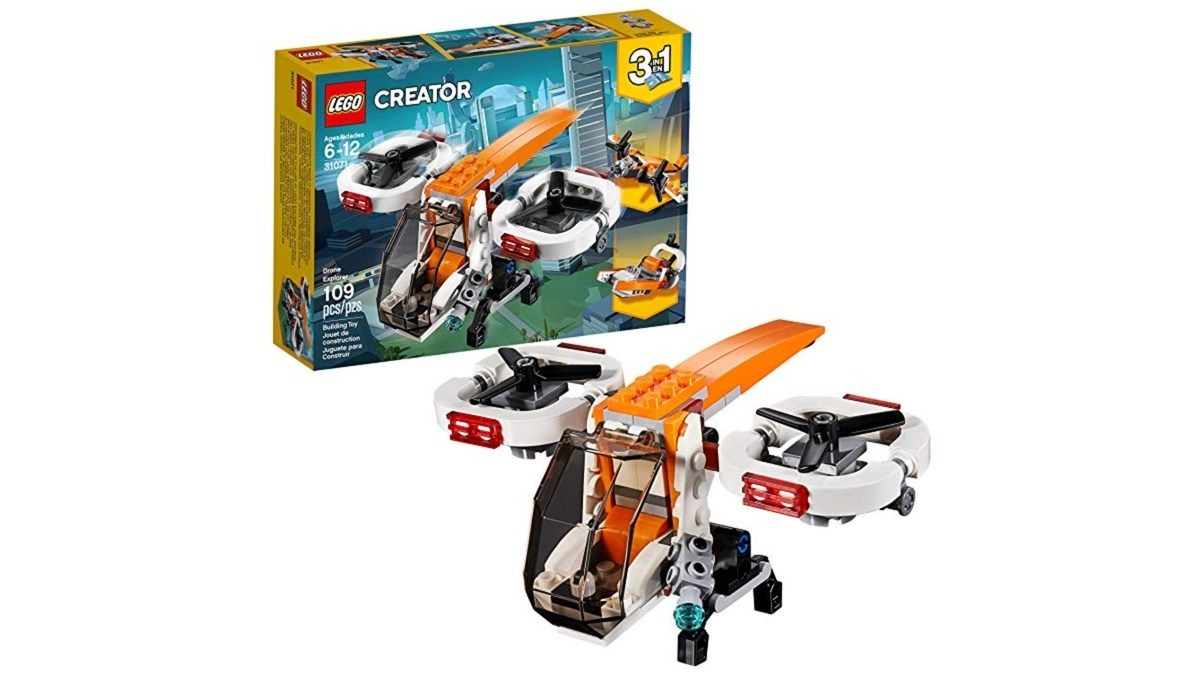 Geek Daily Deals lego creator drone