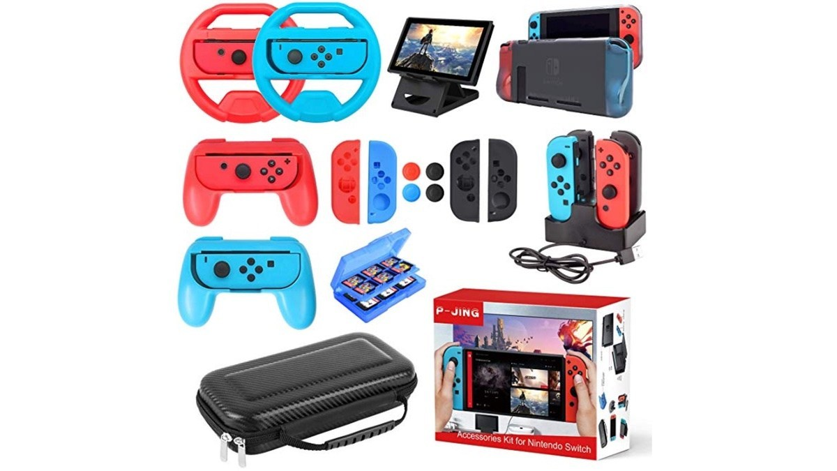 Geek Daily Deals 031619 nintendo switch accessories