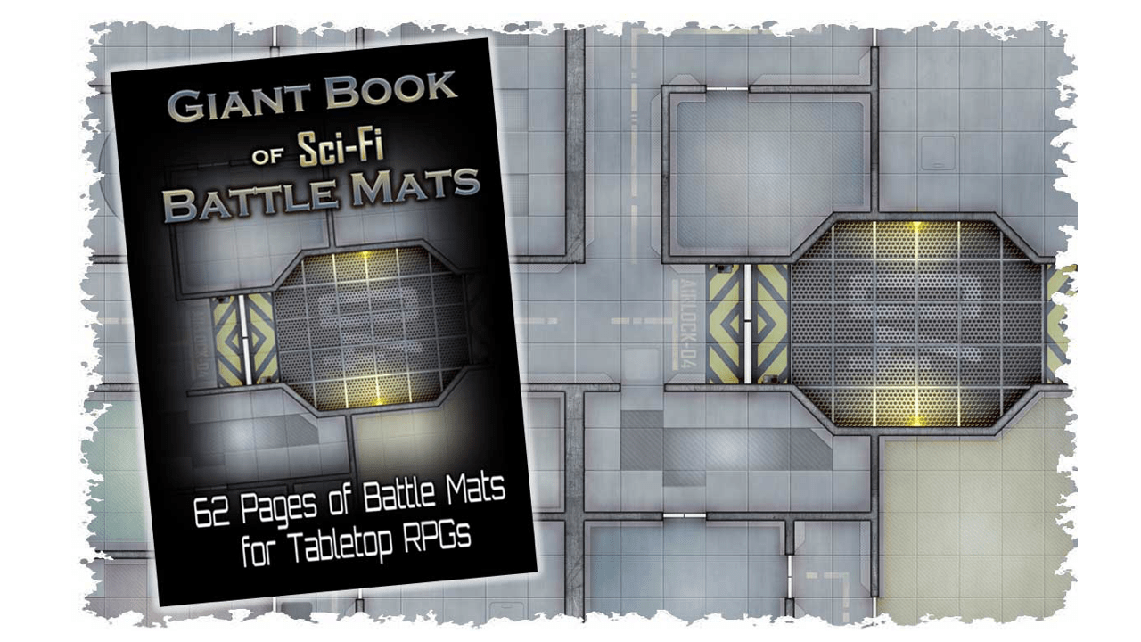 SciFi Battle Mats Feature