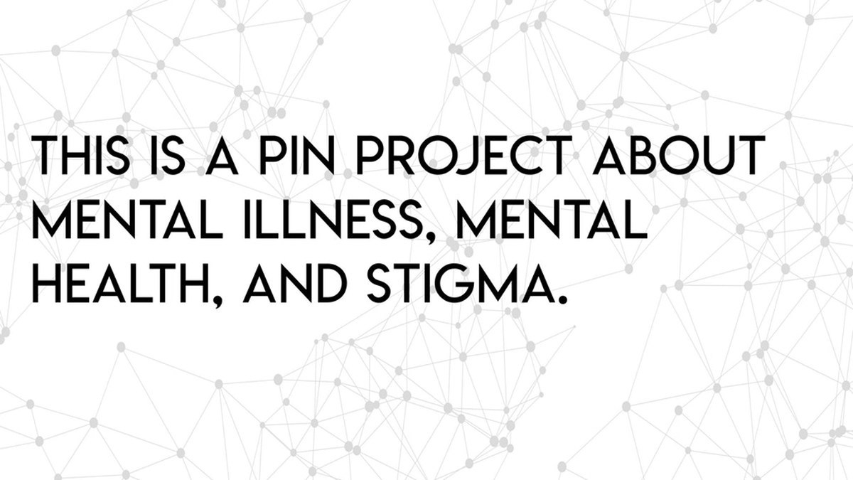 Own Your Stigma pin project