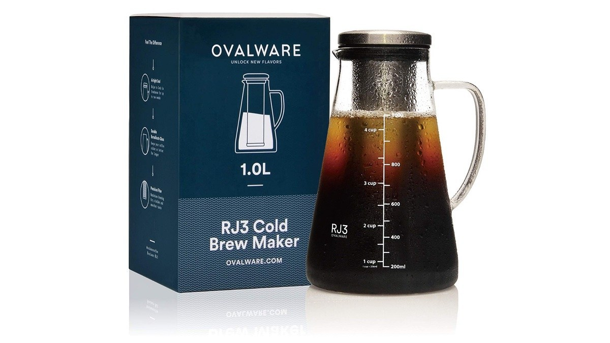 Geek Daily Deals 040419 cold brew coffee maker