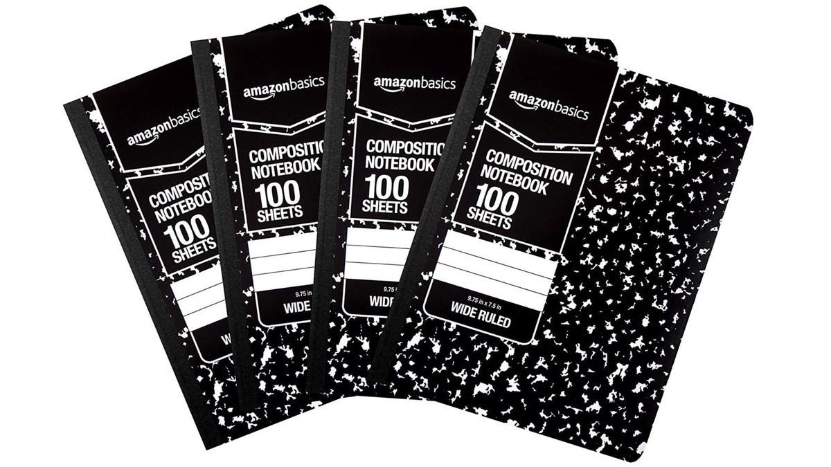 Geek Daily Deals 041119 composition notebooks