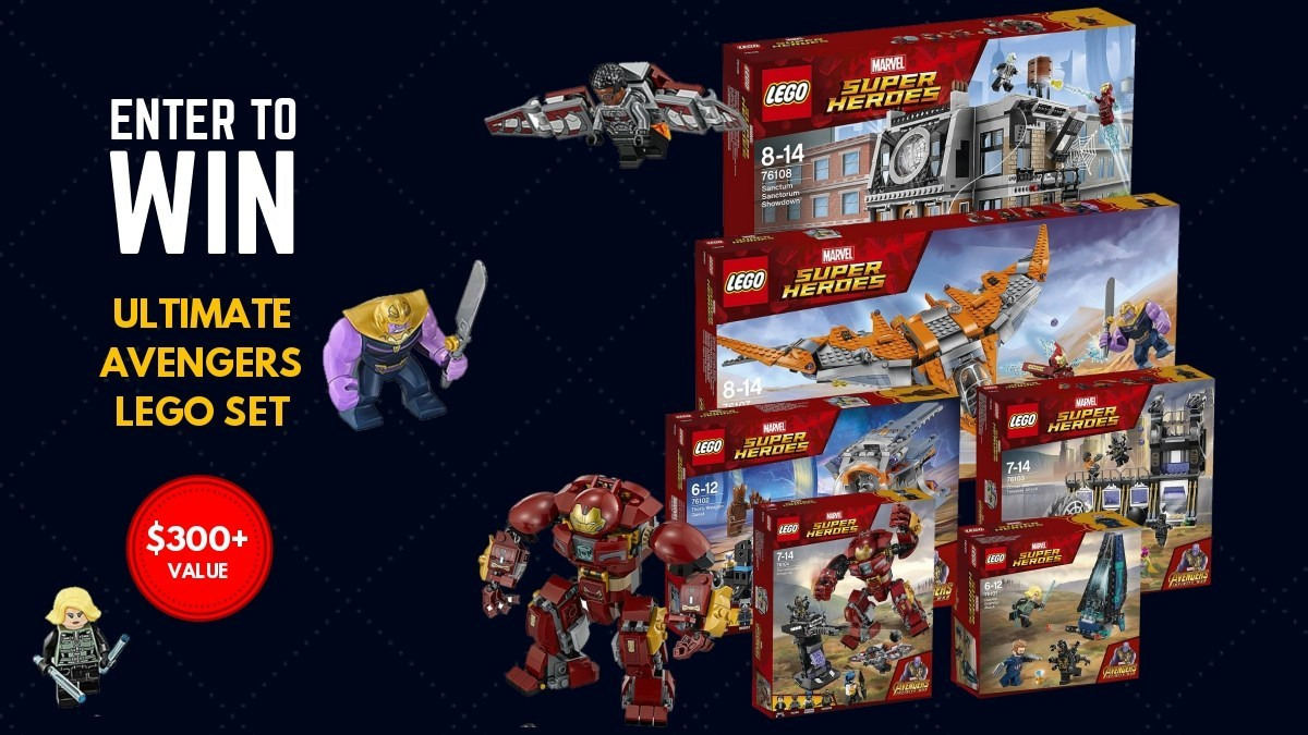 Geek Daily Deals 041719 marvel lego giveaway