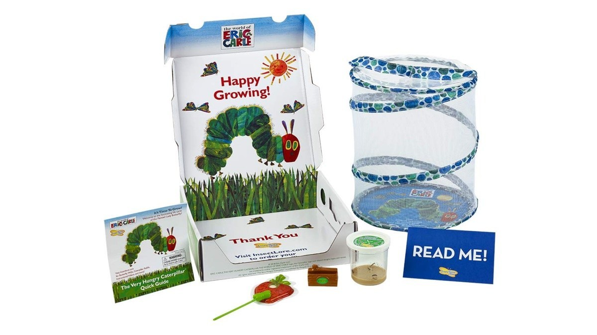 Geek Daily Deals 042819 eric carle butterfly kit