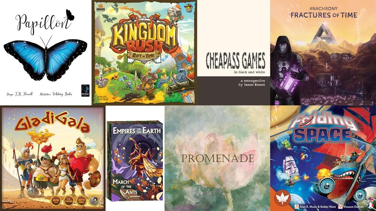 Kickstarter Tabletop Roundup
