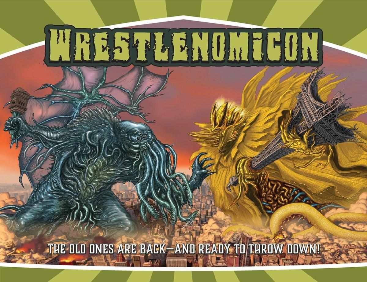 Wrestlenomicon cover
