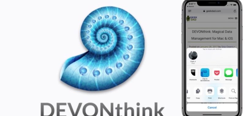 DEVONthink automation