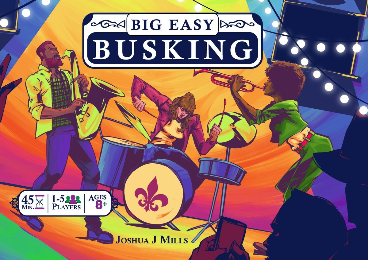 Big Easy Busking cover