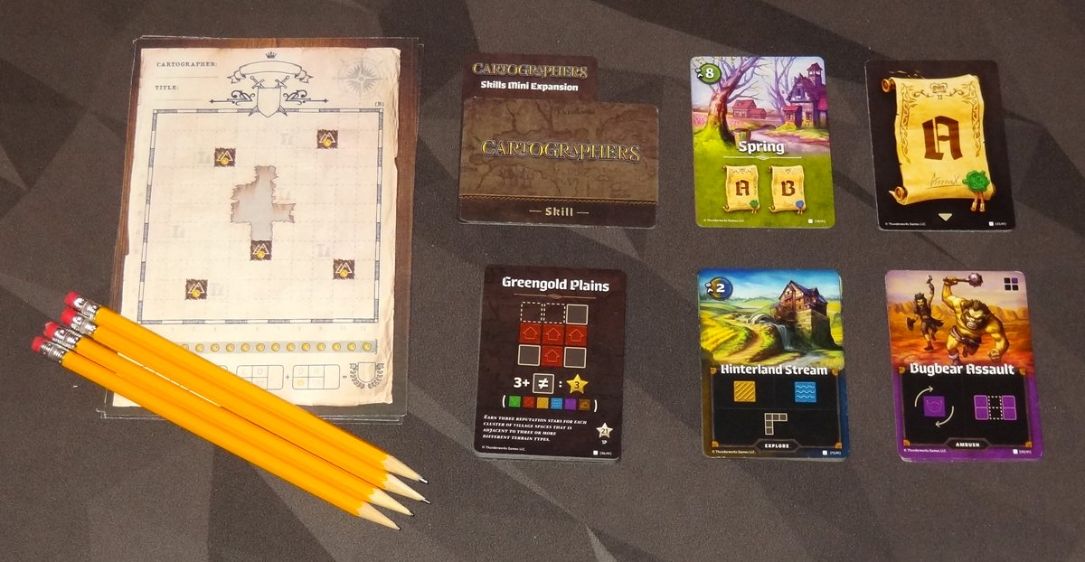 Cartographers components