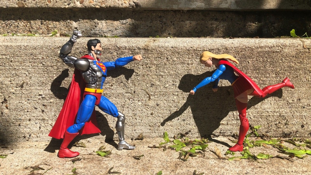 Cyborg-Supergirl