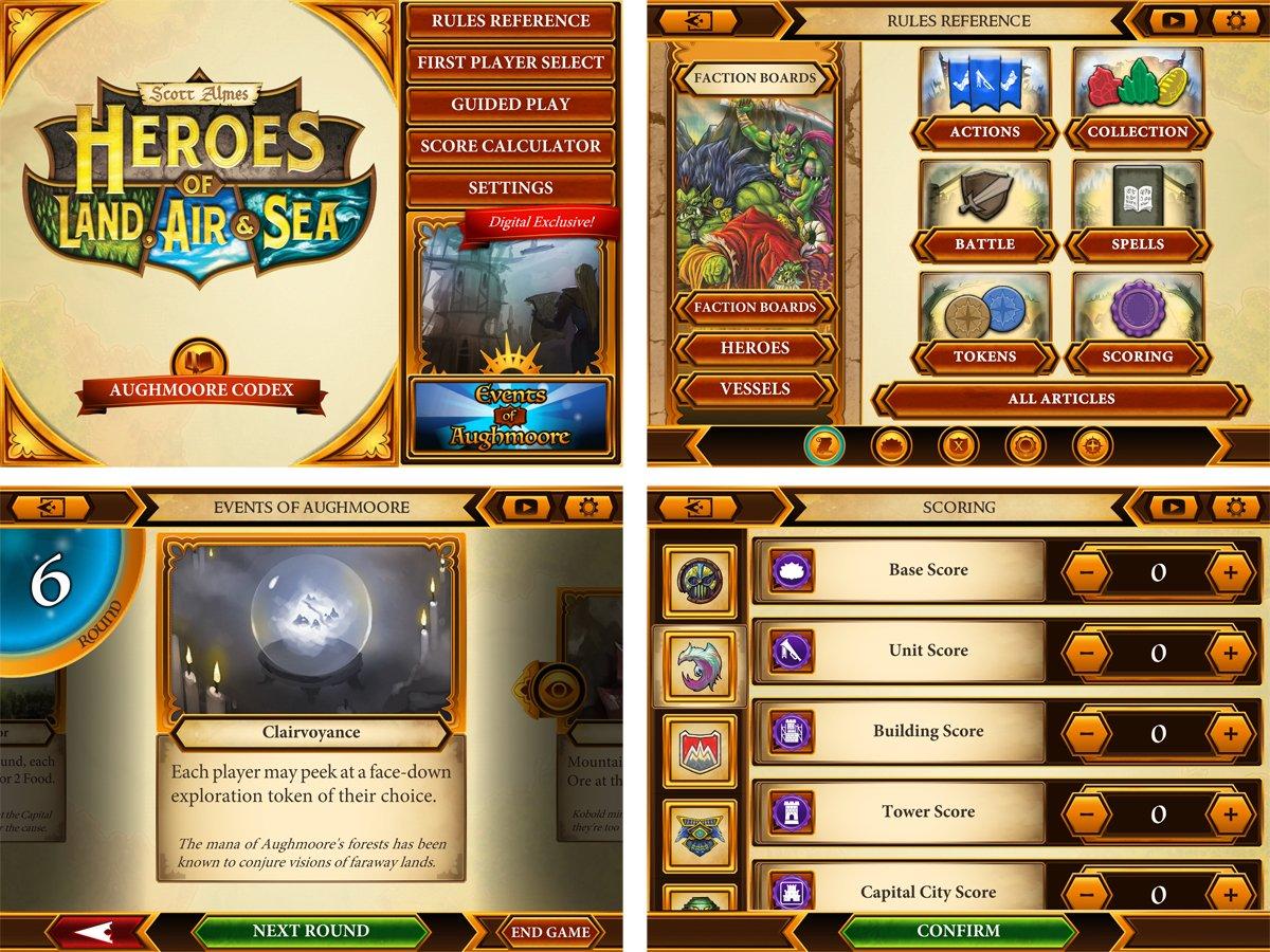 Heroes of Land, Air & Sea companion app
