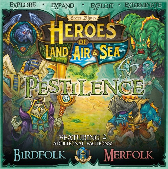Heroes of Land, Air & Sea: Pestilence cover