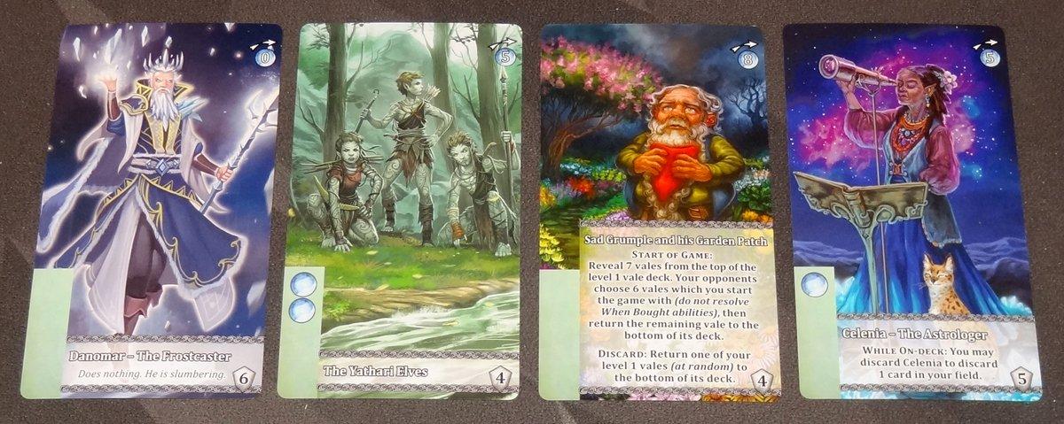 Mystic Vale: Harmony Leader Cards