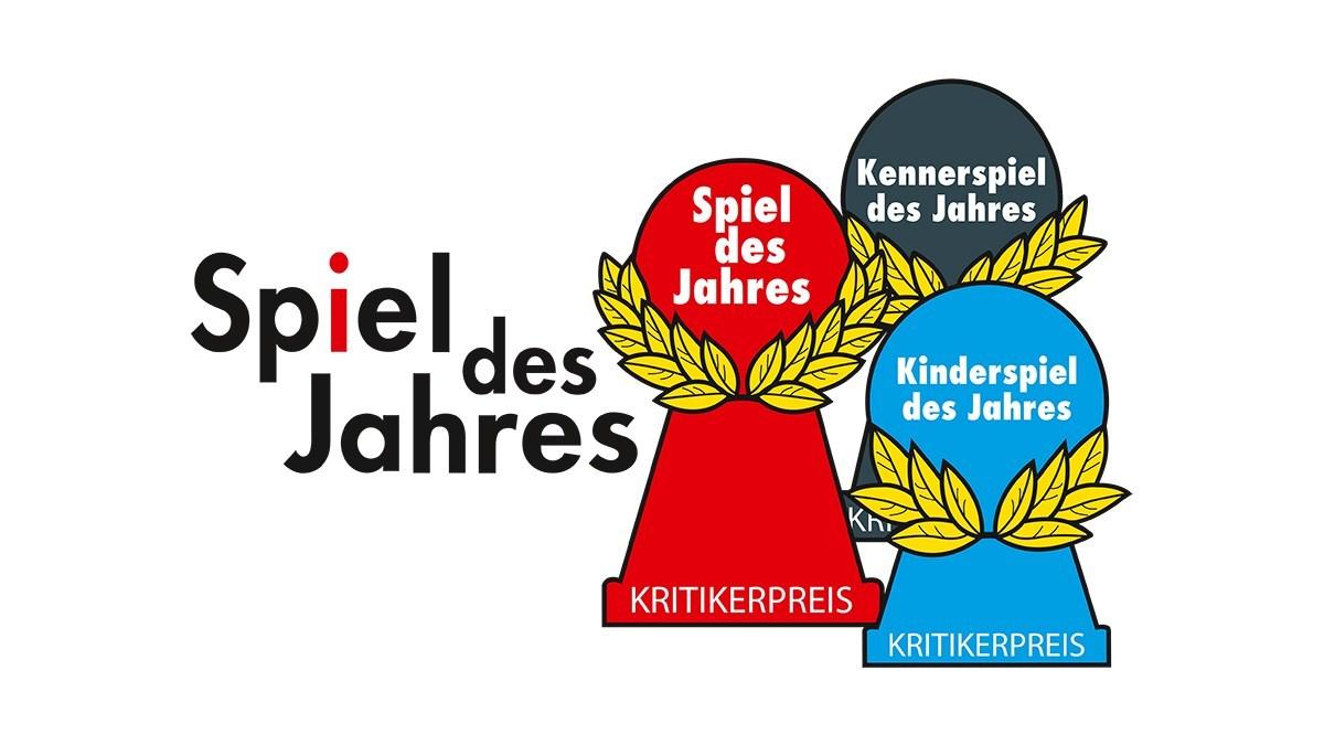Spiel des Jahres logos