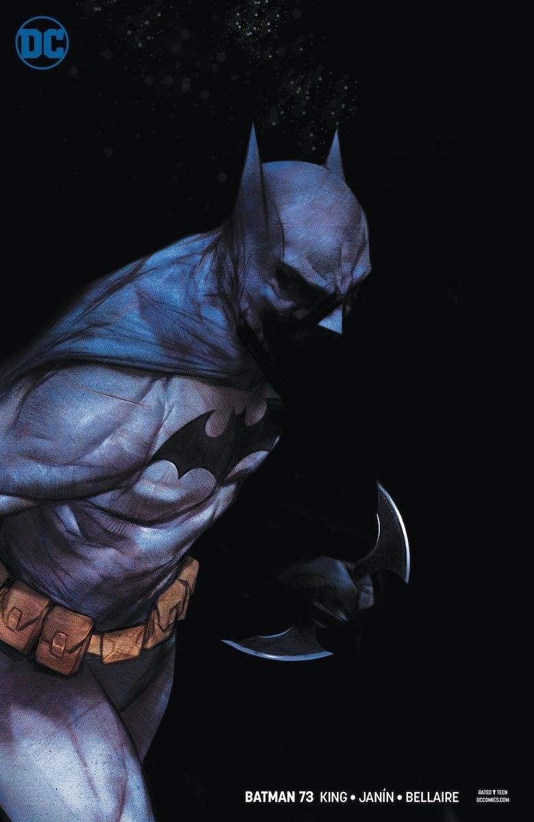 Batman #73 variant cover