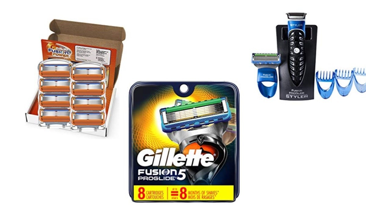 Geek Daily Deals 061219 gillette razors