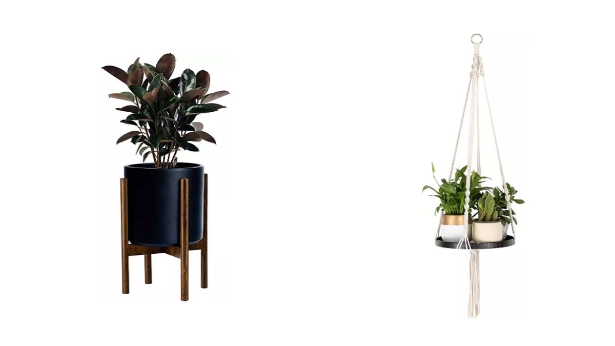 Geek Daily Deals 062519 plant stands and hangers