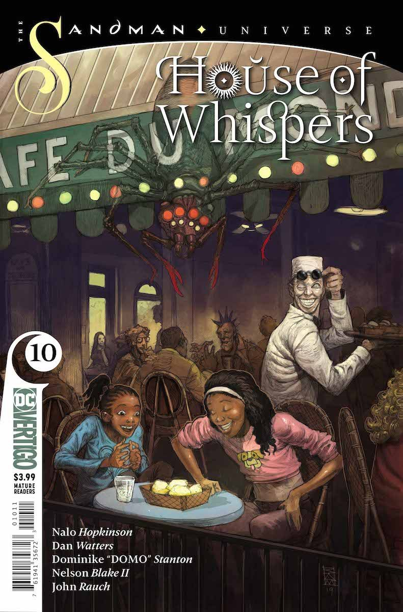 House of Whispers #10 cover